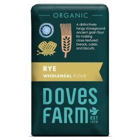 100% Rye Flour - Organic SG 5x1kg
