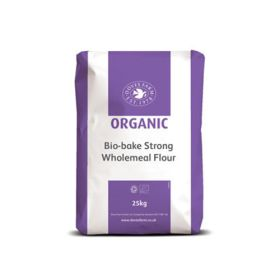 Biobake Strong Wholewheat - Organic 1x25kg