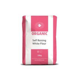 White Self Raising flour - Organic 1x25kg