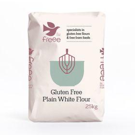 Gluten-Free Plain White Flour 1x16kg