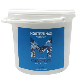 37% Milk Chocolate Couverture - Organic 1x3kg