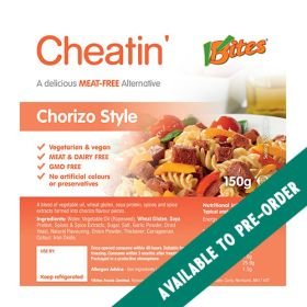 Cheatin' Chorizo Style Chunks 6x150g