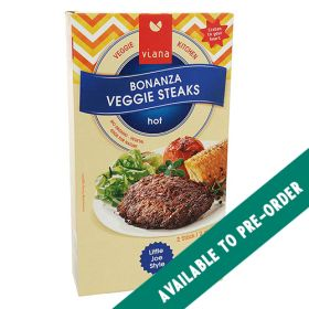 Bonanza Veggie Steaks - Organic 6x210g