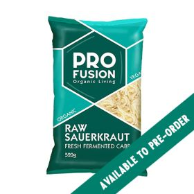Fresh Sauerkraut - Unpasteurised - Organic 20x520g