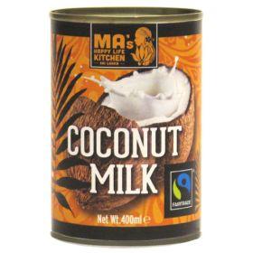 Fairly Traded Coconut Milk - Organic 6x400ml