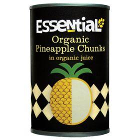 Pineapple Chunks in Juice - Organic 6x400g