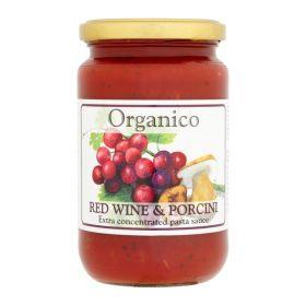 Red Wine & Porcini Pasta Sauce - Organic 6x360g
