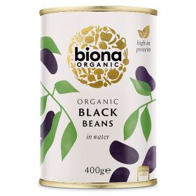 Black Beans - Organic 6x400g