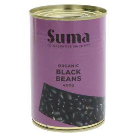 Black Beans - Organic 12x400g
