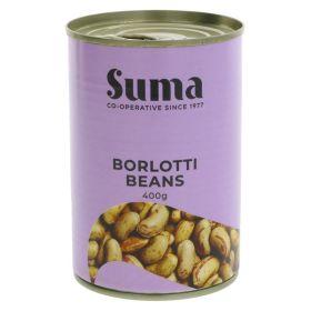 Borlotti Beans 12x400g