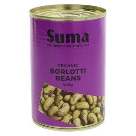 Borlotti Beans - Organic 12x400g