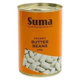 Butter Beans - Organic 12x400g