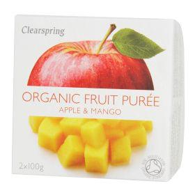 Apple & Mango Puree - Organic 12x2x100g