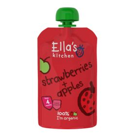 Strawberries & Apples - Organic 7x120g