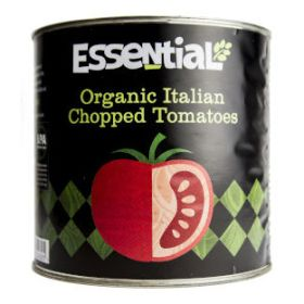 Tomatoes - Chopped - Catering - Organic 1x2.5kg