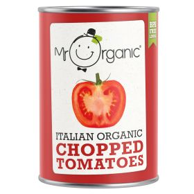 Tomatoes - Chopped - Organic 12x400g