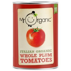 Tomatoes - Whole - Organic 12x400g