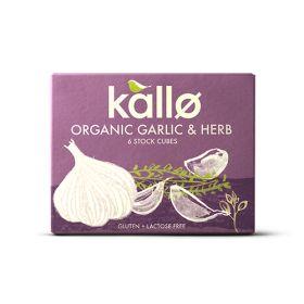 Garlic & Herb Stock Cubes - Organic 15x(6x1)