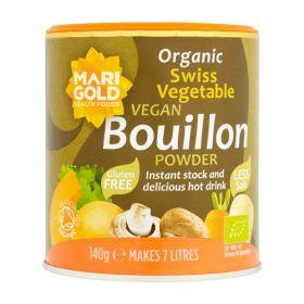 Bouillon Powder - Reduced Salt - Organic 6x140g