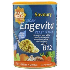 Engevita Yeast Flakes + B12 6x125g