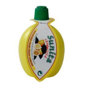 Lemon Juice - Squeezy - SO2 12x200ml