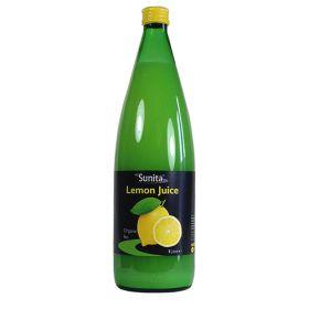 Lemon Juice - Glass - Organic 6x1lt