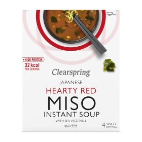 Instant Miso Soup - Red with Sea Vegetable 8x(4x10g)