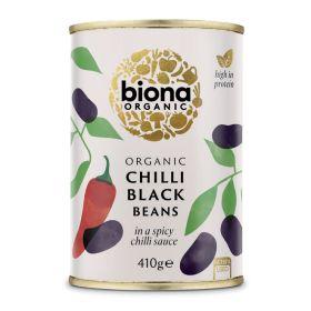 Chilli Black Beans in Chilli Sauce - Organic 6x400g