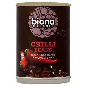 Red Kidney Beans in a Chilli Sauce - Organic 6x395g