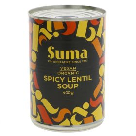 Spicy Lentil Soup - Organic 12x400g