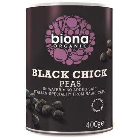 Black Chickpeas - Organic 6x400g