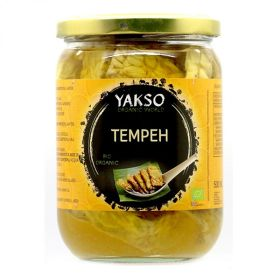 Tempeh in Glass Jar - Organic 6x500ml