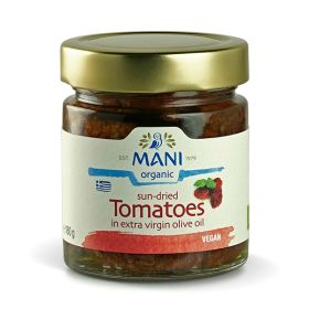 Sundried Tomatoes in Olive Oil - Organic 6x180g