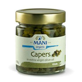 Capers in EVOO - Organic 6x180g