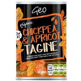 Chickpea & Apricot Tagine - Organic 6x400g