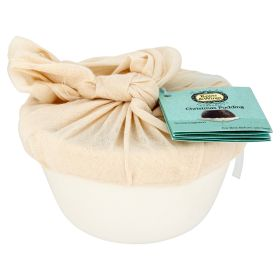 Christmas Pudding Ceramic Bowl - Organic 6x200g