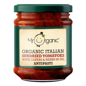 Sundried Tomato Antipasti - Organic 6x190g