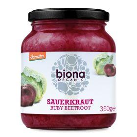 Ruby Beetroot Sauerkraut - Organic 6x350g