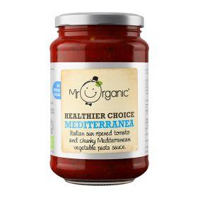 Healthier Choice - Mediterranea Pasta Sauce - Organic 6x350g