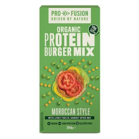 Moroccan Style Protein Burger Mix - Organic 6x250g