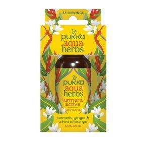 Aqua Herbs Turmeric Active - Organic 8x30ml