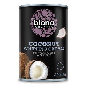 Coconut Whipping Cream - Organic 6x400ml