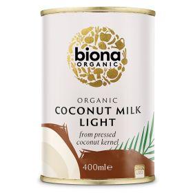 Coconut Milk Light - Organic 6x400ml