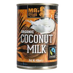 Fairly Traded Coconut Milk - Organic 12x400ml