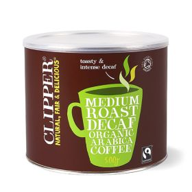 Instant Decaf Coffee - Organic 1x500g