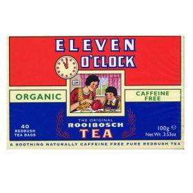 11 O'Clock Rooibosch Tea Bags - Organic 4x40