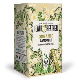 Camomile Tea Bags - Organic 6x20