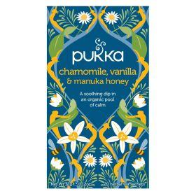 Chamomile, Vanilla & Manuka Tea - Organic 4x20