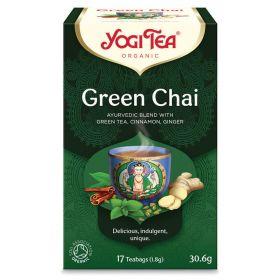 Green Chai Tea - Organic 6x17bags