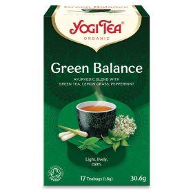 Green Balance Tea - Organic 6x17bags